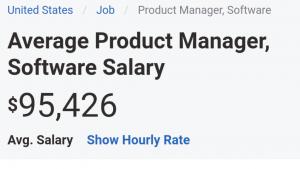 Gaji tinggi product manager perusahaan software!